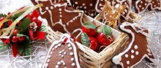 рождественская выпечка рецепты