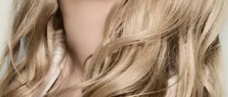 окрашивание волос блондинки