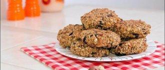 рецепт очень вкусного овсяного печенья