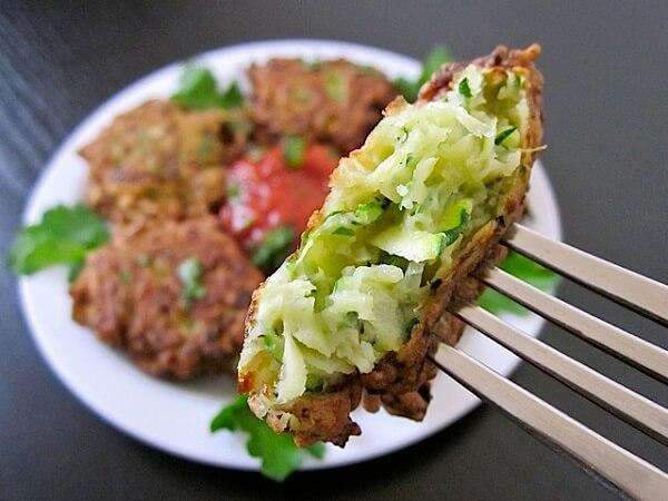 Рецепт оладьев из кабачков