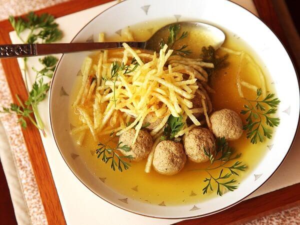 лучший рецепт супа с луком и фрикадельками