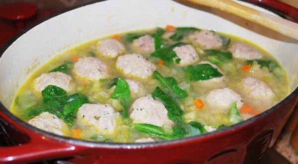 Суп с фрикадельками из фарша - лучшие рецепты