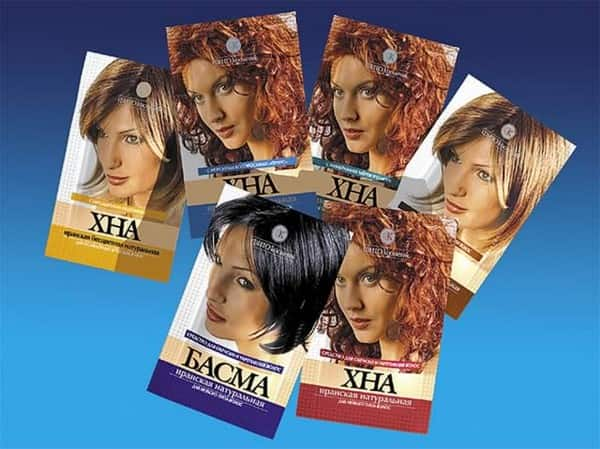 Виды хны для окрашивания волос