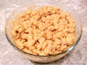 Домашнее песочное печенье для торта Муравейник