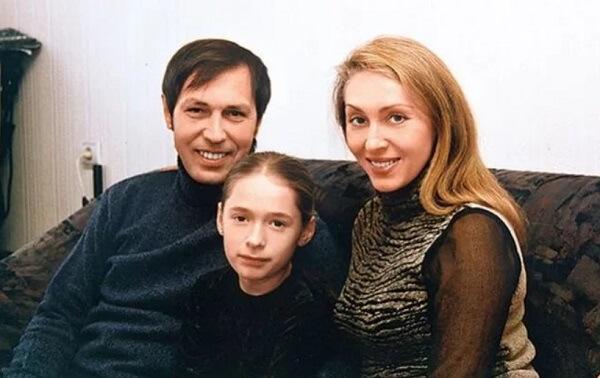 Николай Носков с семьей