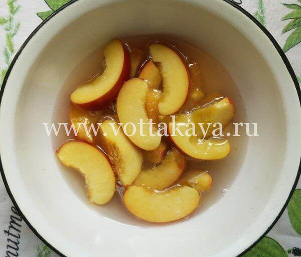 Варенье из персиков на зиму - простой рецепт