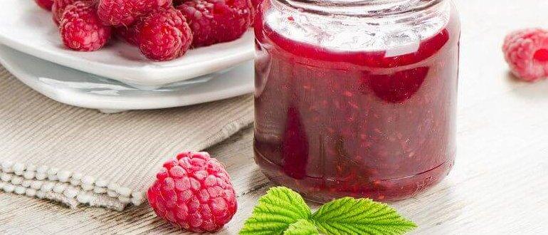 Варенье из малины на зиму: рецепты простые