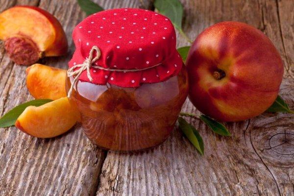 Варенье из персиков на зиму с лимоном