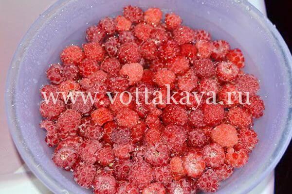 Варенье из малины на зиму с сахаром