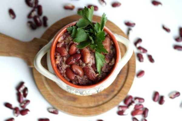 Лобио из красной фасоли: классический рецепт с курицей