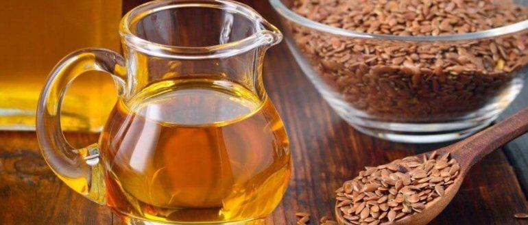 Льняное масло для похудения: польза и вред