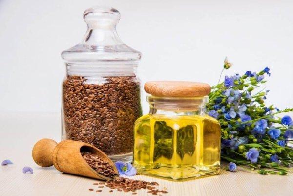 Льняное масло для кожи лица