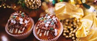 Десерты на Новый год 2019: рецепты простые и вкусные
