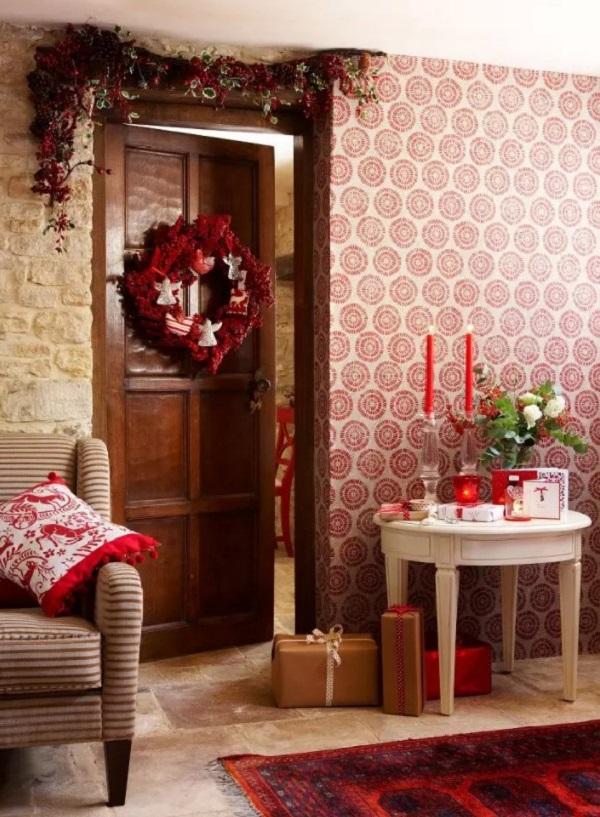 Как красиво украсить комнату к Новому году 2022